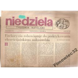 NIEDZIELA TYGODNIK KATOLICKI 9.VIII.1987