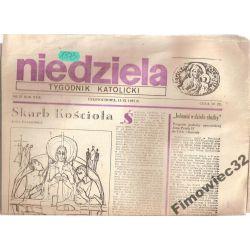 NIEDZIELA TYGODNIK KATOLICKI 13.IX.1987