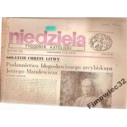 NIEDZIELA TYGODNIK KATOLICKI 2.VIII.1987