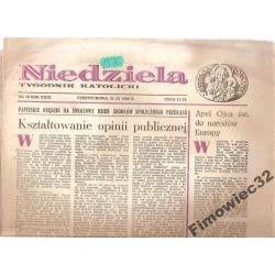 NIEDZIELA TYGODNIK KATOLICKI 21.IX.1986