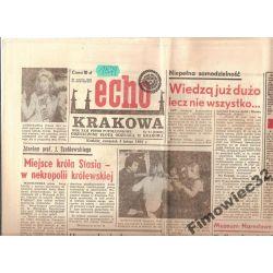 ECHO KRAKOWA4.II.88 miejsce króla Stasia-wnekropol
