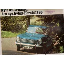 Nytt fra TRIUMPH: den nye,livlige HERALD 13/60