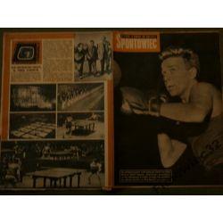 Sportowiec nr 16 z 1961 piłka nożna boks kolarstwo