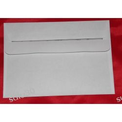 koperta C-6 biała, samoprzylepna - 114X162