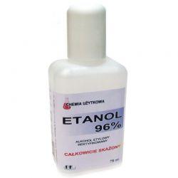 ETANOL - ALKOHOL ETYLOWY 96% REKTYFIKOWANY - 75 ML