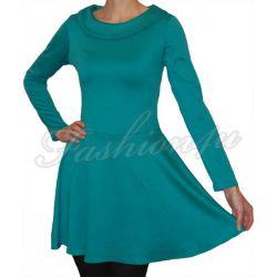 *Fsh4u* Rozkloszowana sukienka morska S