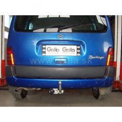 Galia Peugeot Partner 1 Hak ocynk automat  E27