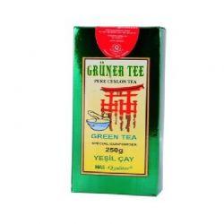 Zielona herbata liściasta z Cejlonu