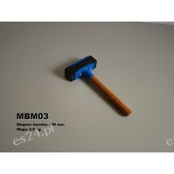 Młotek Brukarski Gumowy - MBM03