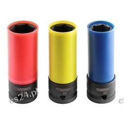 Zestaw nasadek do felg aluminiowych 17, 19, 21 mm - zabierak 1/2'' | E194676 FIRMY STANLEY EXPERT