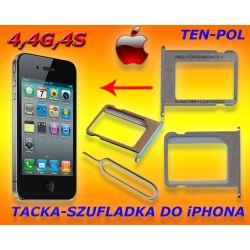 SZUFLADKA-TACKA KARTY SIM MIKRO - iPHONE 4
