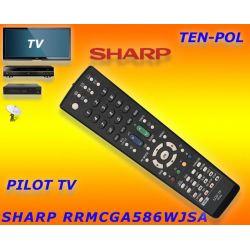 PILOT DO TV SHARP RRMCGA586WJSA - RRMCGA538WJSA