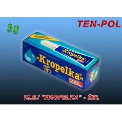 KLEJ KROPELKA  - POXIPOL - ŻEL  3g