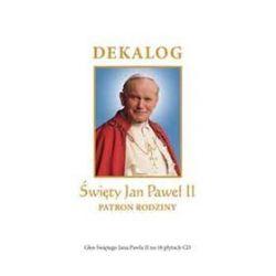 Dekalog. Święty Jan Paweł II - Patron Rodziny. Głos Ojca Świętego za 10 płytach CD (druk/CD) - Jan Paweł II,
