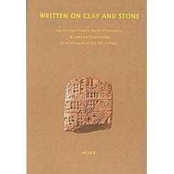 Written on clay and stone - Krystyna Szarzyńska