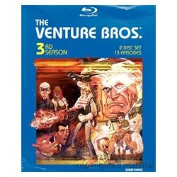 Venture Bros., The: 3rd Season (Blu-ray  2008)