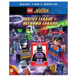 Lego: DC Comics Super Heroes - Justice League VS Bizarro League (Blu-ray + DVD + UltraViolet) (Blu-ray )