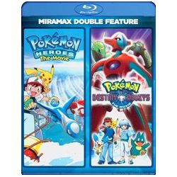 Pokemon Heroes / Pokemon: Destiny Deoxys (Double Feature) (Blu-ray )
