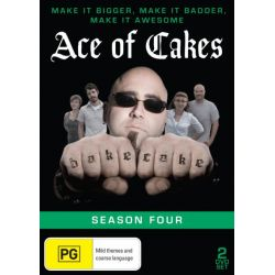 Ace of Cakes on DVD.