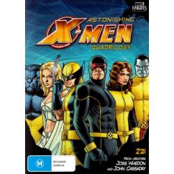 Astonishing X-Men on DVD.