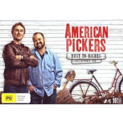 American Pickers on DVD.