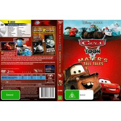Cars Toon Collection Maters Tall Tales on DVD.