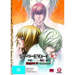 Death Note on DVD.