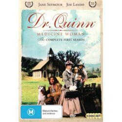 Dr. Quinn Medicine Woman on DVD.