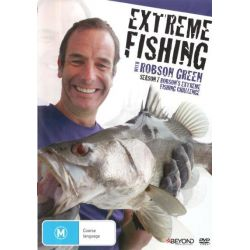Extreme Fishing with Robson Green on DVD.