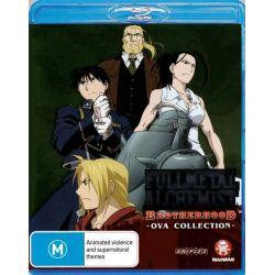 Fullmetal Alchemist on DVD.