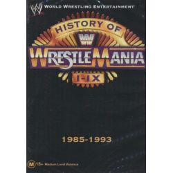 History of Wrestlemania I - IX : 1985 - 1993 on DVD.