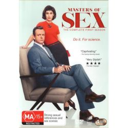 Masters of Sex on DVD.