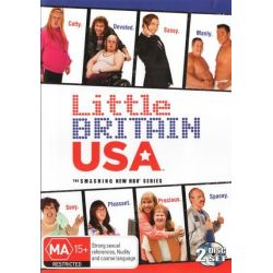 Little Britain USA on DVD.