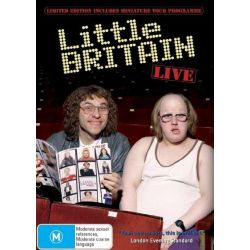 Little Britain on DVD.
