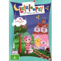 Lalaloopsy on DVD.