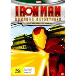 Iron Man Armored Adventures on DVD.
