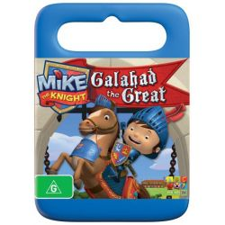 Mike the Knight on DVD.