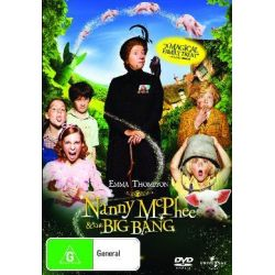 Nanny McPhee and the Big Bang on DVD.