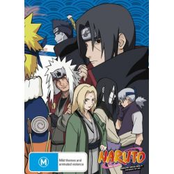Naruto (Uncut) Mega-Box 2 (Episodes 107-220) (Limited Edition) on DVD.