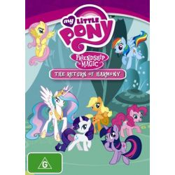 My Little Pony - Friendship is Magic on DVD.