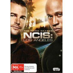 NCIS Los Angeles on DVD.
