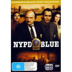 NYPD Blue - Complete Season 4 Collection (6 Disc Set) on DVD.
