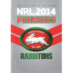 NRL 2014 Premiers (South Sydney) Rabbitohs - Collector's Edition on DVD.