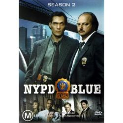 NYPD Blue - Complete Season 2 Collection (6 Disc Set) on DVD.