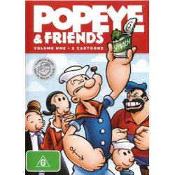 Popeye and Friends on DVD.