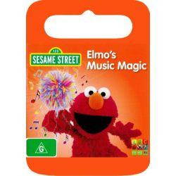 Sesame Street on DVD.