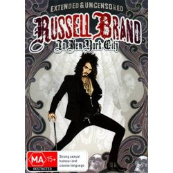 Russell Brand in New York City on DVD.