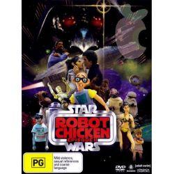 Robot Chicken Star Wars on DVD.