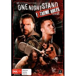 One Night Stand : Extreme Rules 2008 on DVD.