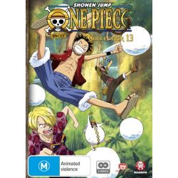 One Piece (Uncut) Collection 13 (Eps 157-169) on DVD.